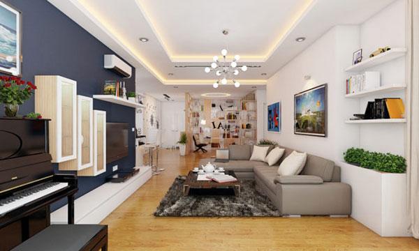 sơn căn hộ chung cư tại hải phòng