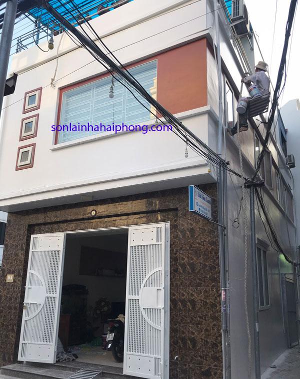 Sơn nhà trọn gói tại Hải Phòng- Giá rẻ theo từng m2